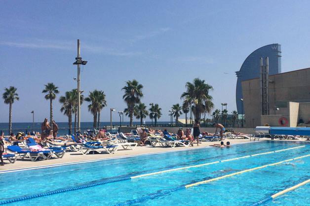 pool sports weekend Barcelona