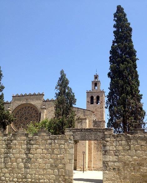 sant cugat monastery trip Barcelona