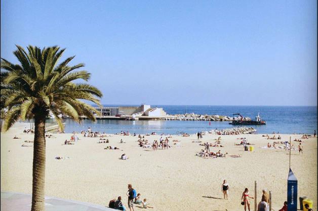 Barceloneta beach season Barcelona