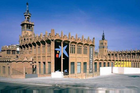caixaforum barcelona at the foot of Montjuic