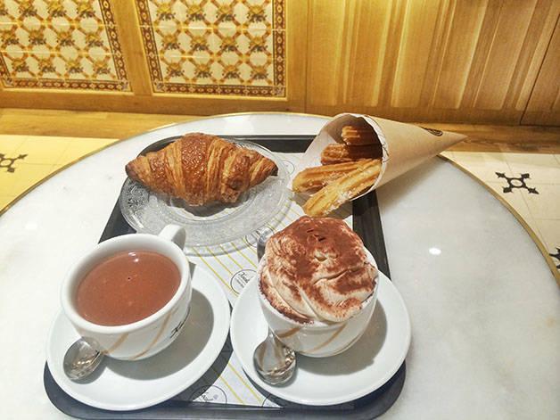 hot chocolate Barcelona like a local