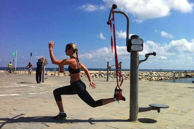 get sporty for free: beach barcelona