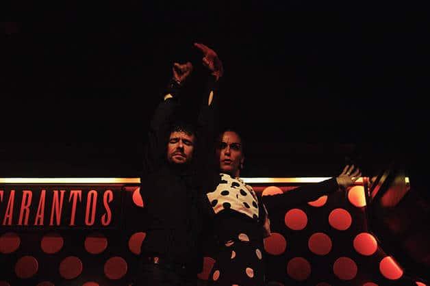 tarantos flamenco performance