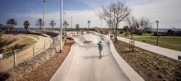skateboard in barcelona