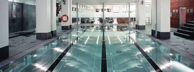 holmes pool covered gym