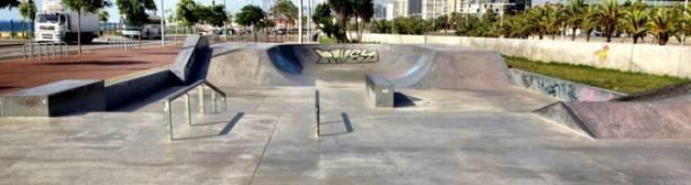 skateboard in Barcelona Maresme