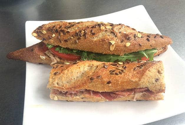 sandwich at hansel