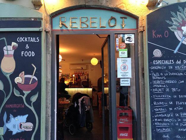 rebelot entrance