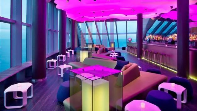 hotel W bar