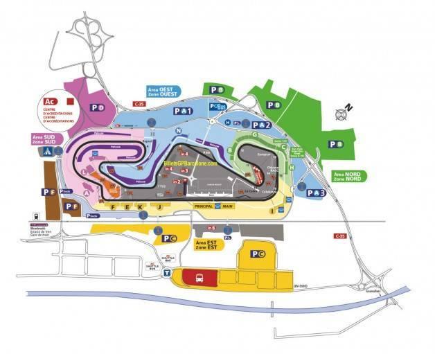 Moto GP map