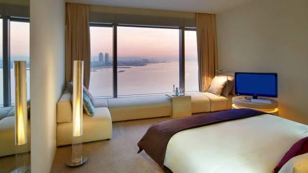 Hotel W sea and city views