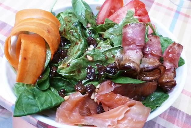 Alcoba Azul salad