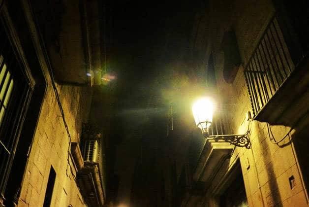 Ghost Walking Tour dark streets