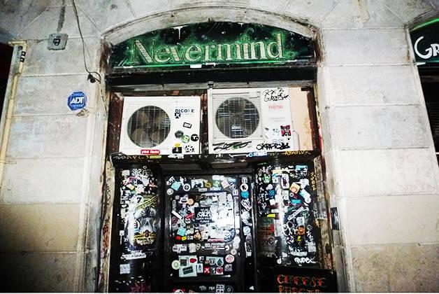 rock bar nevermind