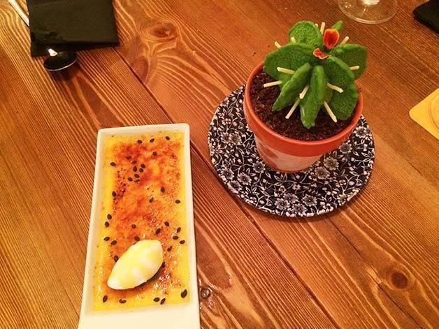 cactus and crème catalane agust