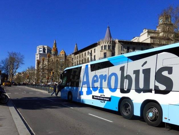 aerobus barcelona transfer