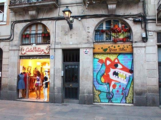 shops in the Raval