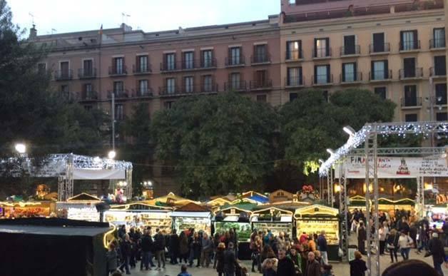 fira santa llucia Christmas markets