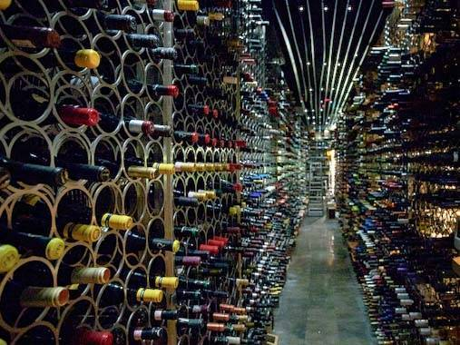 catalan wines: bottle stock