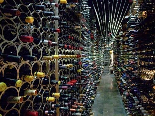 catalan wines: bottle stock