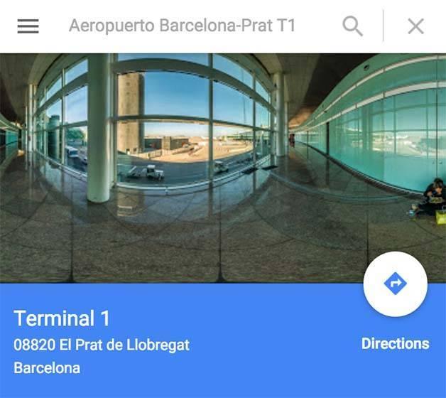 airport-hotel google maps
