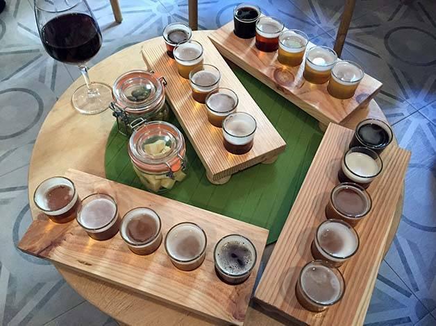 the growler beer tasting sets
