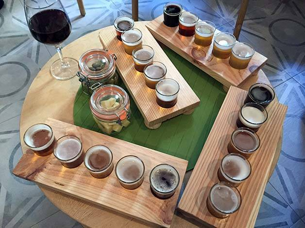 the growler beer tasting sets