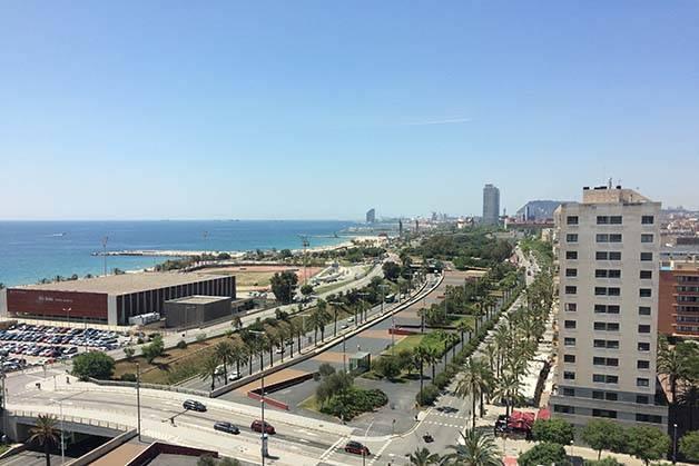 barcelo atenea mar sea view