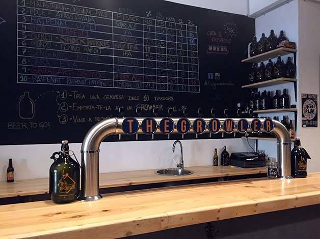 the growler craft beer bar