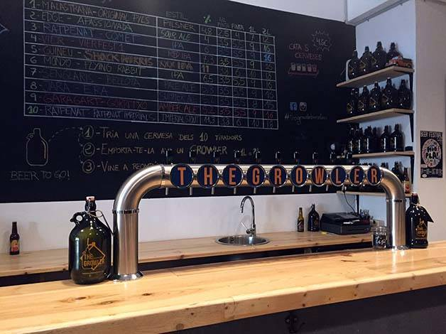 the growler craft beer bar
