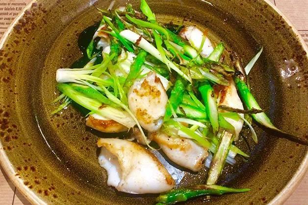 Cuines Santa Caterina: squid