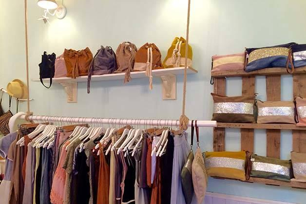 Claudine shop interior