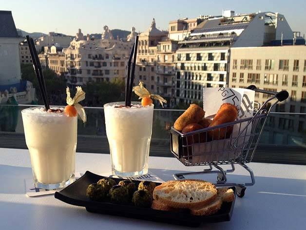 hotel terraces Condes de Barcelona