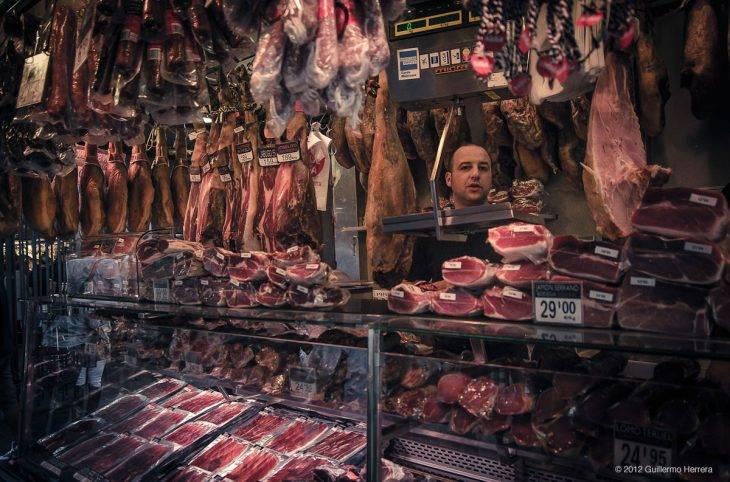top markets Boqueria ham