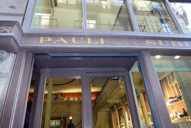 oldest shops Subirà