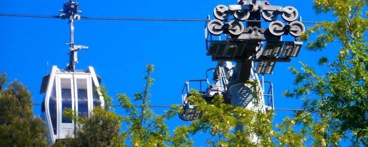 cable car Montjuïc Barcelona