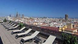citadines Ramblas terrace