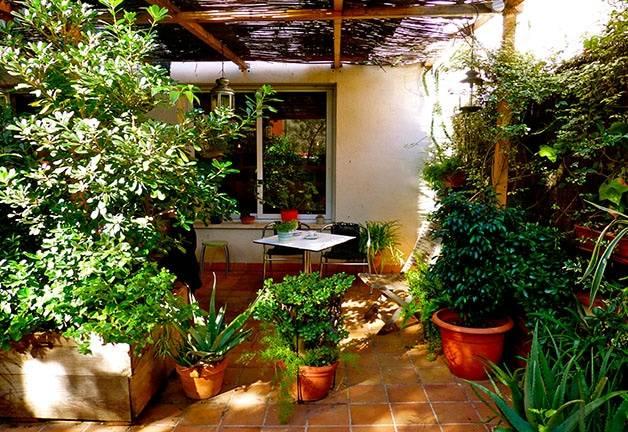 liadísimo terrace garden