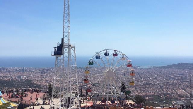 Tibidabo: views