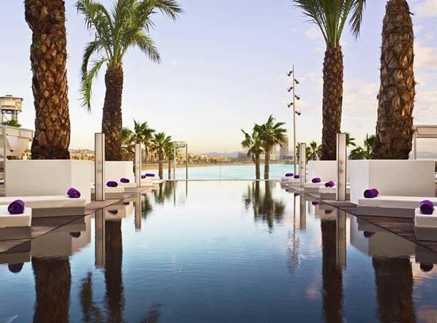hotel terraces Barcelona wet deck