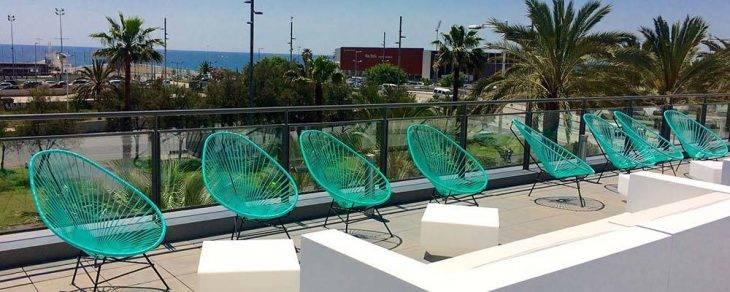 Barceló Atenea Mar terrace