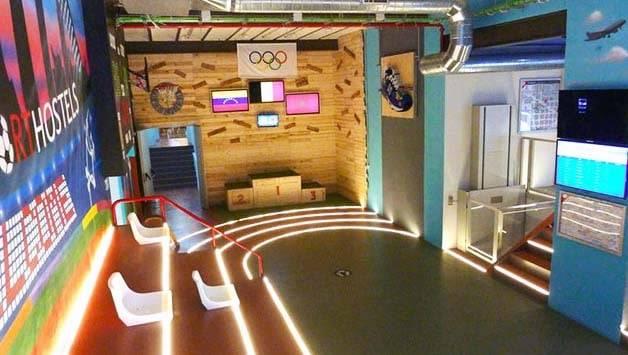 BCN Sport Hostel hall