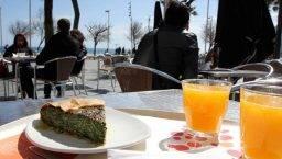 sunny terraces Buenas Migas Barceloneta