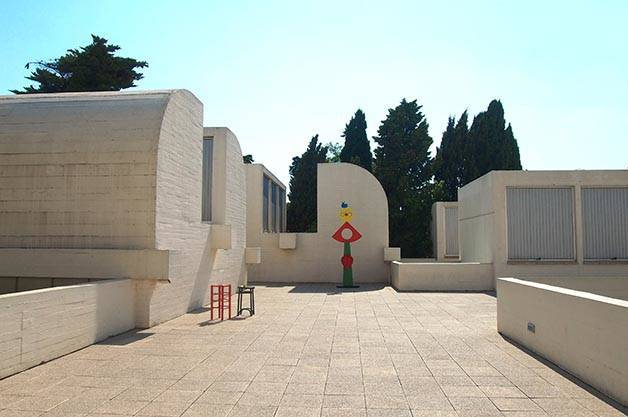 Miró Foundation terrace