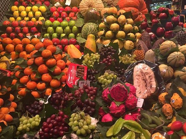 fruit Boquería Ramblas