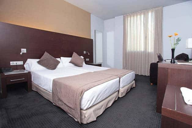 Madanis apartments twin beds