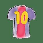 barça t-shirt 10