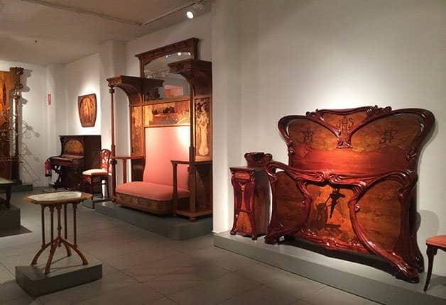 museu-del-modernisme- catala furniture