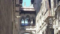 Barcelona's history gothic quarter