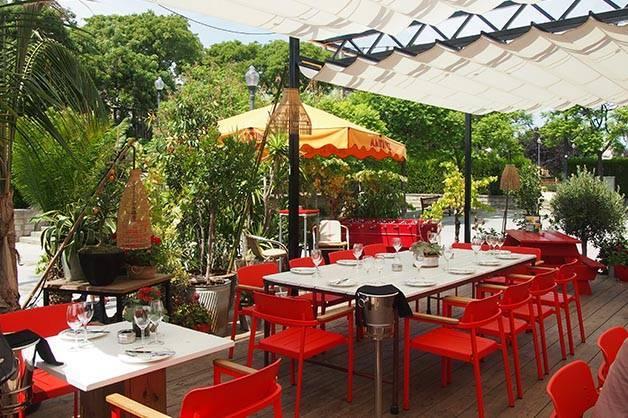 Martinez restaurant terrace